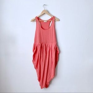 Urban Outfitters Coral Racerback Knit Dress